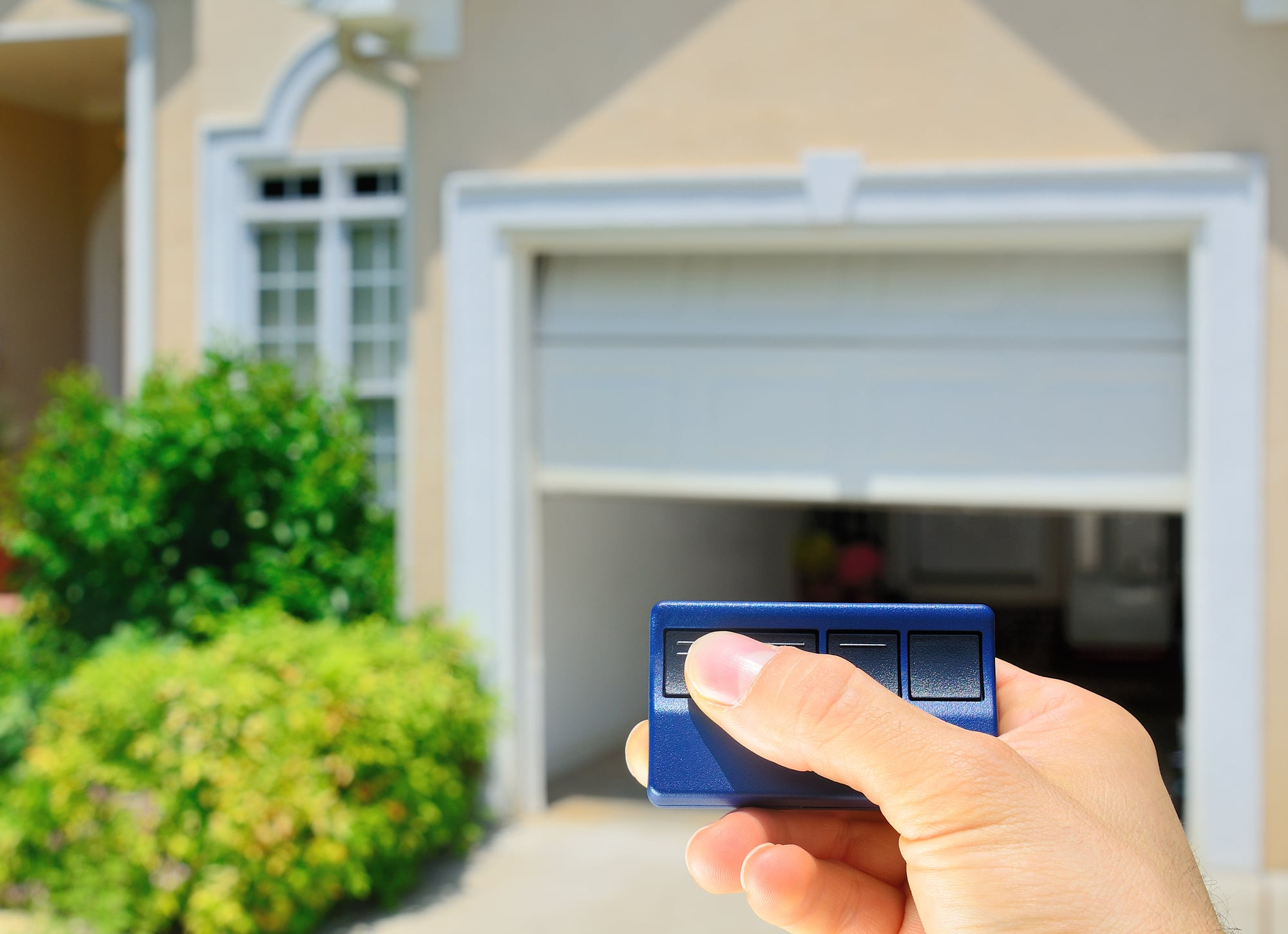 Island Garage Door Company - Garage Door Remote Control